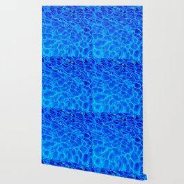 Blue Water Abstract Wallpaper