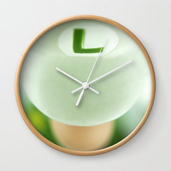 Mighty Luigi Wall Clock By Josemanuelerre Society6