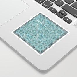 Victorian Turquoise Ceramic Tiles Sticker