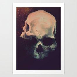 Mr Twoface Art Print