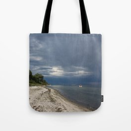 nature reserve in lieps, baltic sea Tote Bag