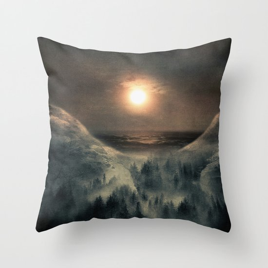 Hope Decorative Pillow : Hope in the moon Throw Pillow by Viviana Gonzalez Society6