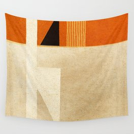 Solitaire du Figaro (ocre) Wall Tapestry