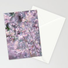 colourful grasses Stationery Cards