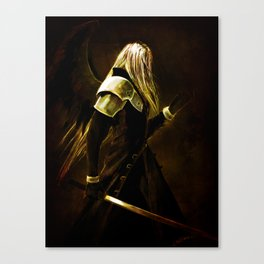 One Winged Angel Canvas Print