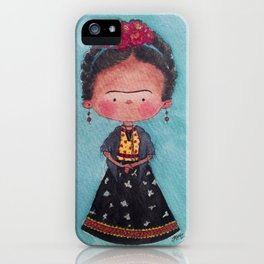 Frida - Watercolor iPhone Case