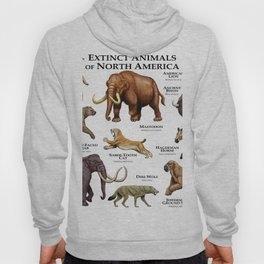 Extinct Animals of North America Hoody