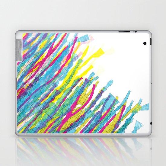 stripes in the wind Laptop & iPad Skin