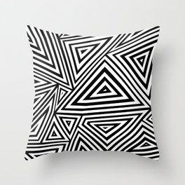 Ab Geo Geo Throw Pillow