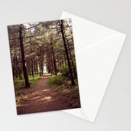 Pine Forest Tunnel Stationery Cards