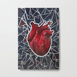 Electric Heart Metal Print