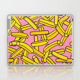 French Fries on Pink Laptop & iPad Skin