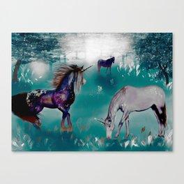 Galaxy Unicorn Canvas Print