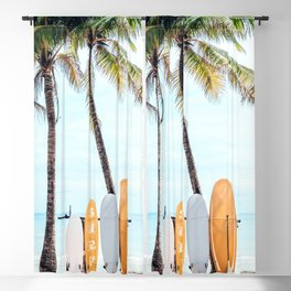 Choose Your Surfboard Blackout Curtain