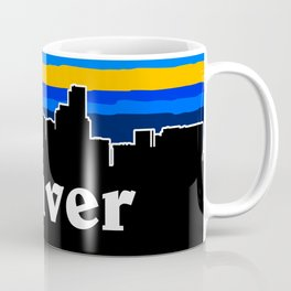 Denver Cityscape Coffee Mug