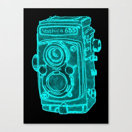 Red Camera Canvas Print