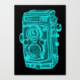 Red Camera Canvas Print