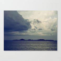 Clouds on the water... Canvas Print