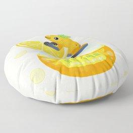 Golden poison lemon sherbet 2 Floor Pillow