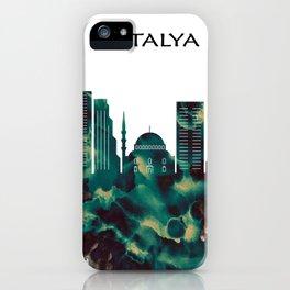Antalya Skyline iPhone Case