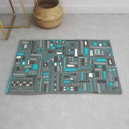 Turquoise Dream (Pattern) Rug