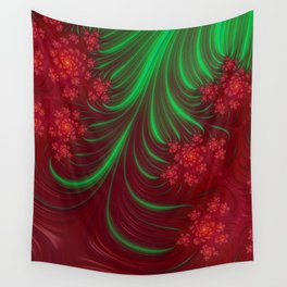 Christmas Flow - Fractal Art Wall Tapestry