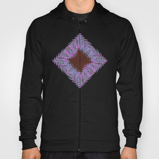 In The Pink Colorfoil Bandanna Hoody