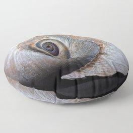 Moon snail sea shell 2863 Floor Pillow