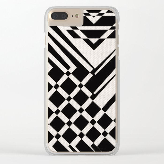 Connection Fail Clear iPhone Case
