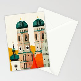 travel europe germany munich Stationery Cards