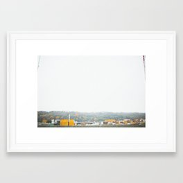 shipping I Framed Art Print