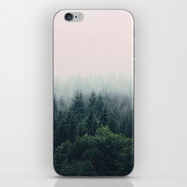 Between every two pines is a doorway to a new world iPhone Skin
