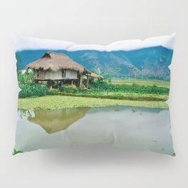 Mountain Village in Vietnam Pillow Sham