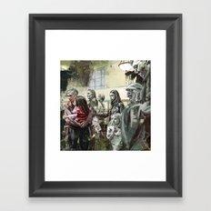 Untitled Stares Framed Art Print