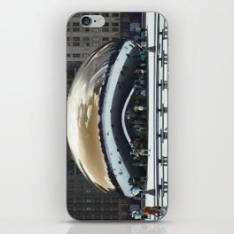 bean to cloud-gate recently? iPhone Skin