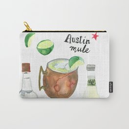 Austin Mule Cocktail Recipe Carry-All Pouch
