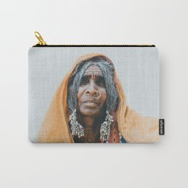 Indian Tribal Woman Carry-All Pouch