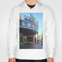 movies Hoodies featuring Day at the movies by Debra Slonim Art & Design
