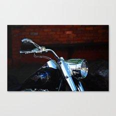 Shiny Harley Canvas Print