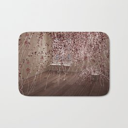 Electric Flowers Bath Mat