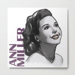 1940s Ann Metal Print