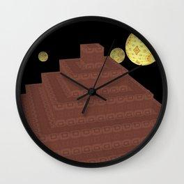 Pyramide Grotesque 25 Wall Clock