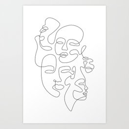 All Around Art Print