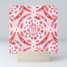 Geometric harmony Mini Art Print
