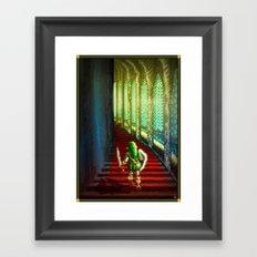 Pixel Art series 18 : Before the fight Framed Art Print