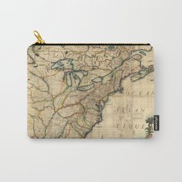 Map of North America (1777) Carry-All Pouch