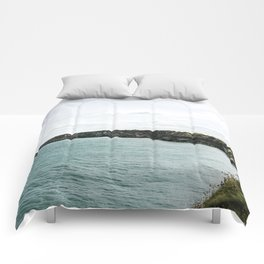 Cliffs of Normandy Comforters