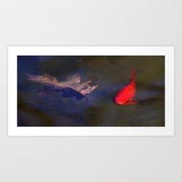 Bright Fish Art Print