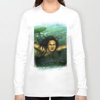 underwater Long Sleeve T-shirts featuring Underwater by Brasil Fantástico