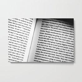 Kerouac Soulshine Metal Print